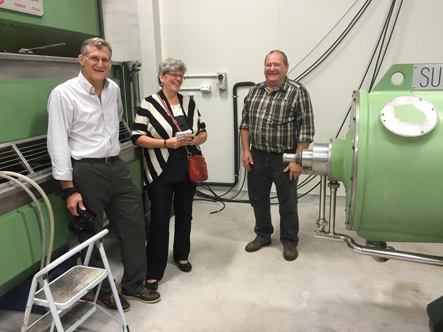American Professors visit The Olive Press