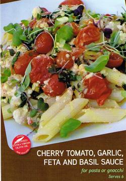 Cherry Tomato Feta Sauce