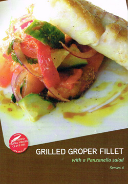 Grilled Groper Fillet Recipe