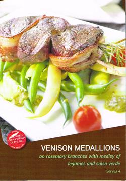 Venison Medallion Recipe