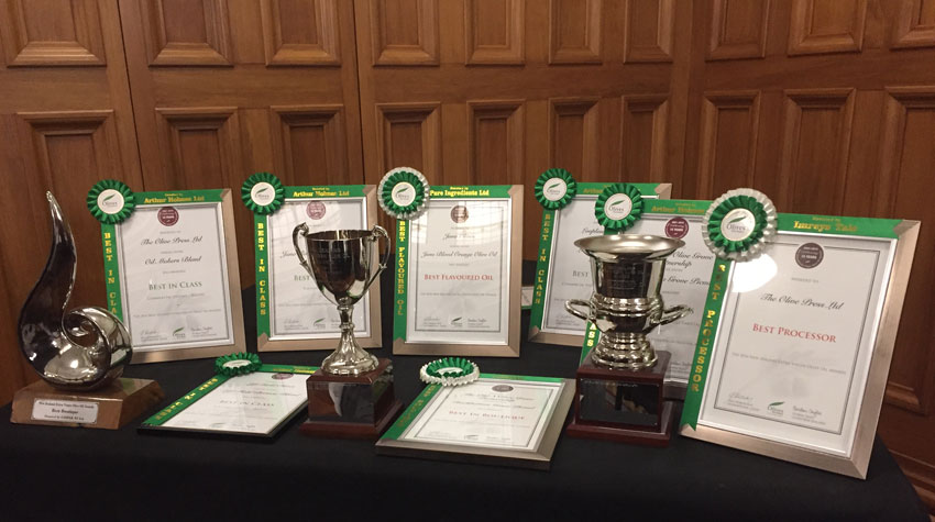 2016 Olive Oil Awards NZ